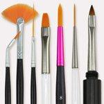 Kosmetik- & Nail Art Pinsel