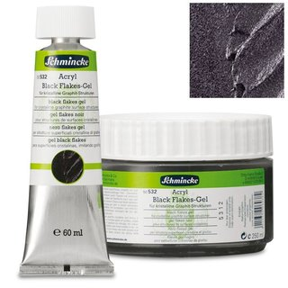 Schmincke Acryl Black Flakes Gel
