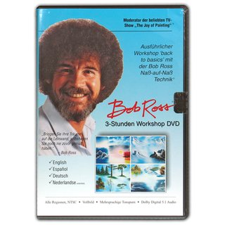 Bob Ross - 3 Stunden Workshop - DVD